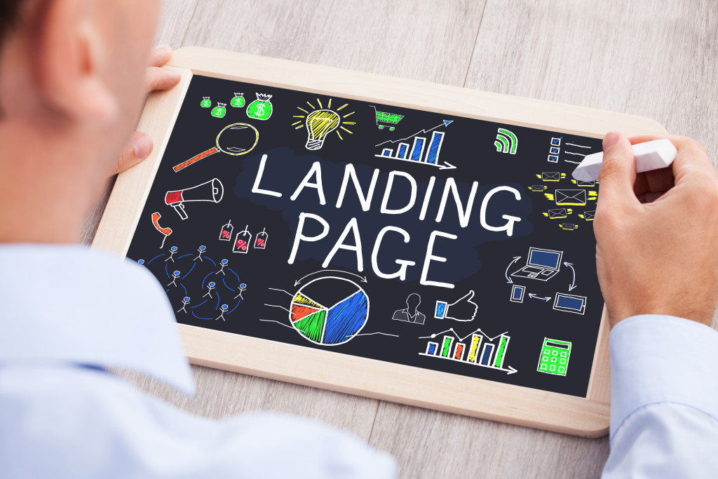 Landing page - Marketing Automation