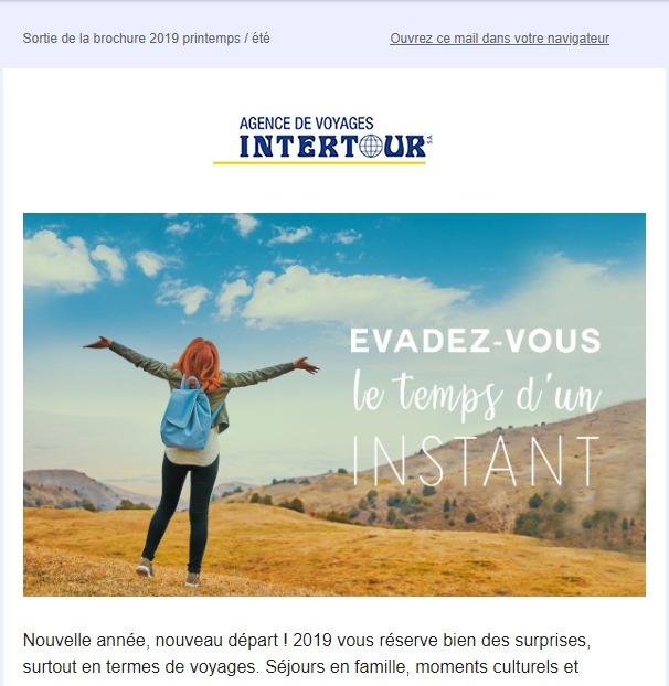 Intertour : newsletter fêtes