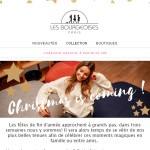 Les Bourgeoises : newsletter de Noel