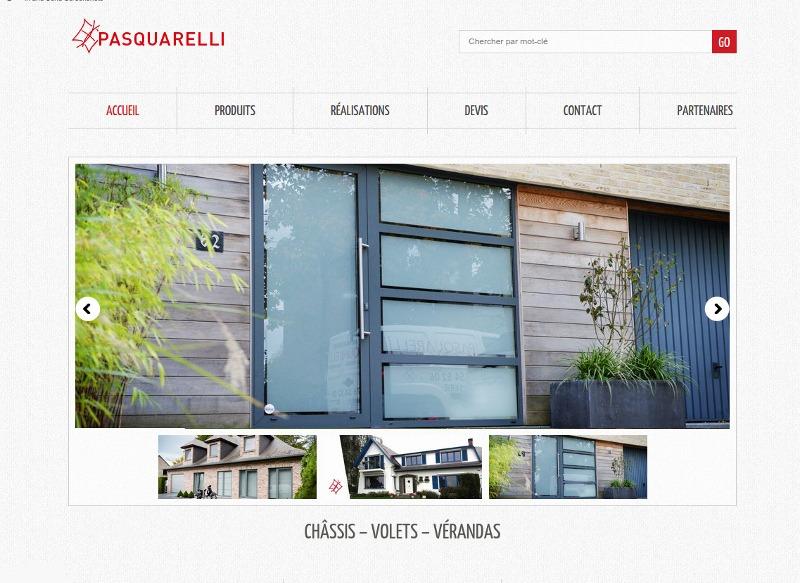 Pasquarelli : pose de châssis, portes et volets