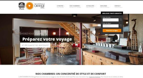 Orange Hôtel : hôtel près de La Louvière