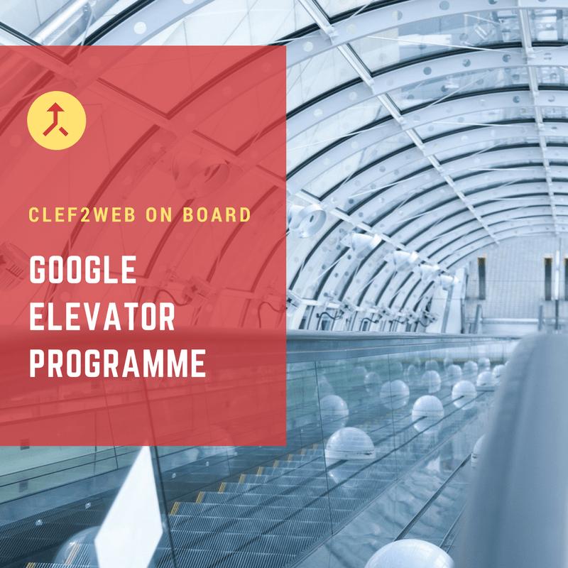 Google Elevator Clef2web