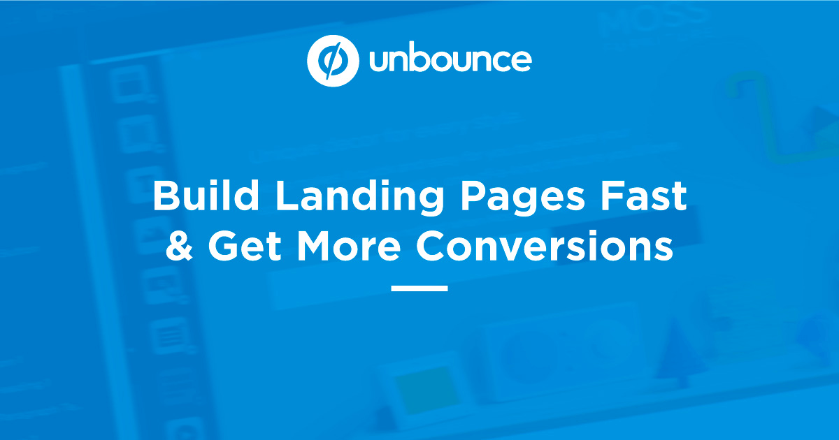 Unbounce interface